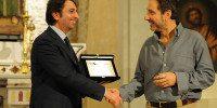 Mario Tozzi riceve il Premio Paestum Archeologia