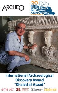 "International Archaeological Discovery Award ""Khaled al-Asaad"" (2nd edition)"