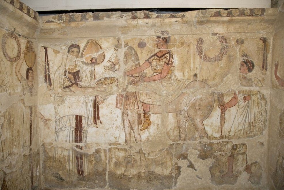 Depositi Museo Archeologico Paestum
