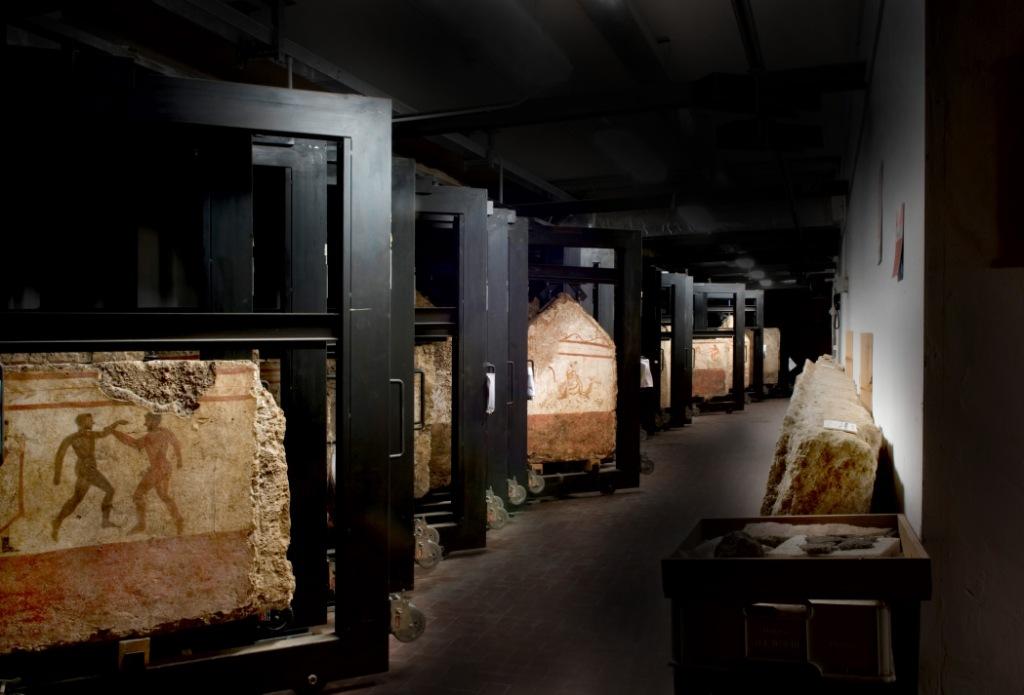 depositi-museo archeologico Paestum