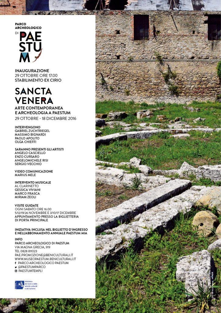 Sancta Venera – Arte contemporanea e archeologia a Paestum