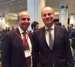 Il direttore Picarelli con il Commissario Europeo Tibor Navracsics