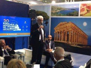 Gianni Bastianelli  interviene alla presentazione della BMTA in BIT