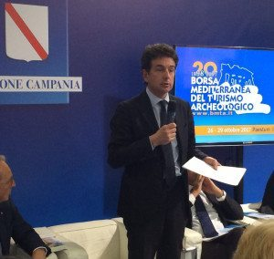 Francesco Palumbo interviene alla presentazione della BMTA in BIT