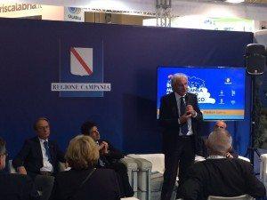 Francesco Caruso interviene alla presentazione della BMTA in BIT