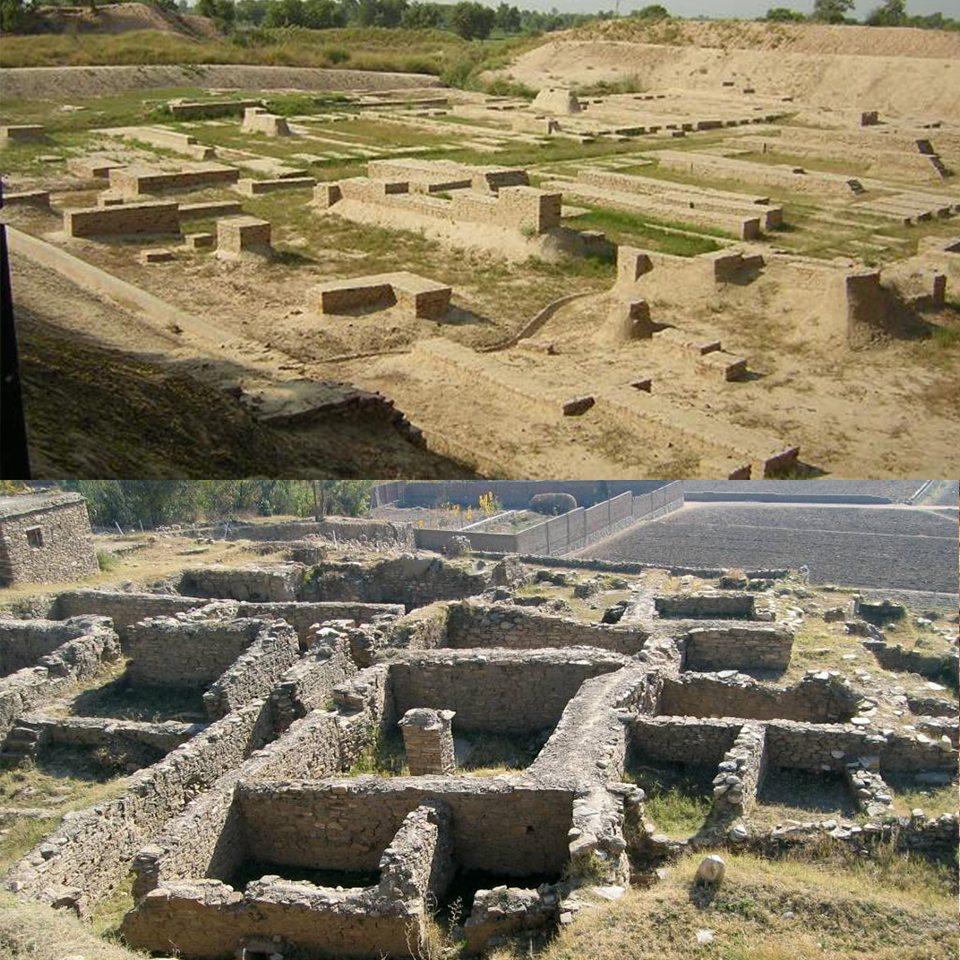 Città Indo-Greca di Bazira in Pakistan