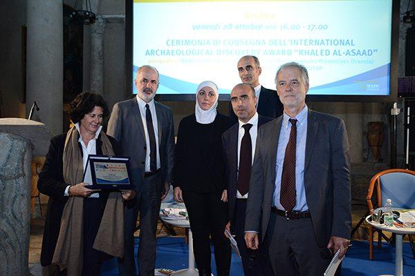Cerimonia di consegna dell'International Archaeological Discovery Award Khaled Asaad