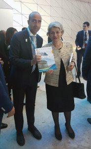 Il Direttore Picarelli con il Direttore Generale Unesco Bokova