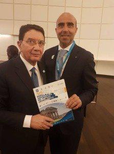 Il Direttore Picarelli con il Segretario Generale UNWTO Taleb Rifai