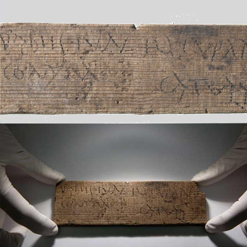Nella city di Londra 400 tavolette di epoca romana
