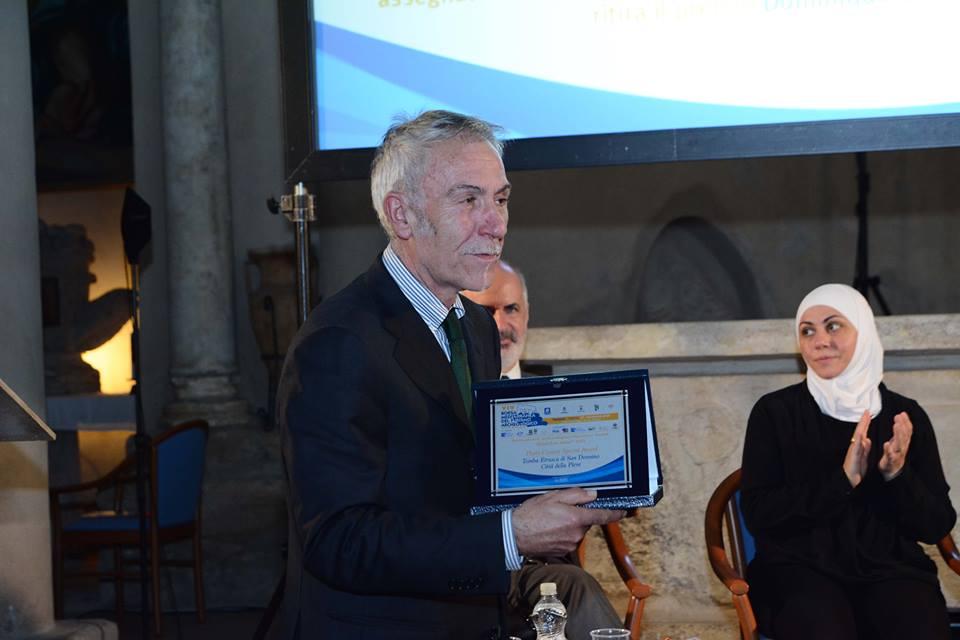 """Il Premio """"Special Award"""" assegnato a Città della Pieve"""