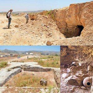 TOMBE DELLA NECROPOLI DI KHALET AL-JAM'A, Palestina