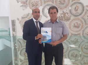 Il Direttore Picarelli col Direttore del Museo del Bardo Mouncef Ben Moussa