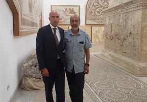 Il Direttore Picarelli con la guida eroe Hamadi Ben Abdesslem