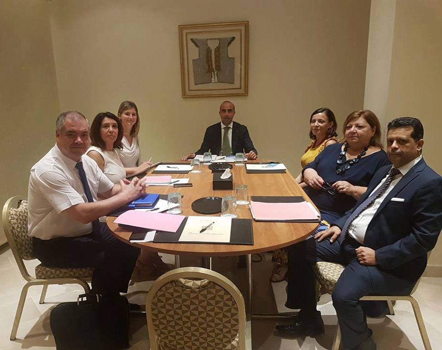 Primo tavolo di lavoro con la Direzione Generale Turismo Culturale del Ministero del Turismo e Artigianato della Tunisia