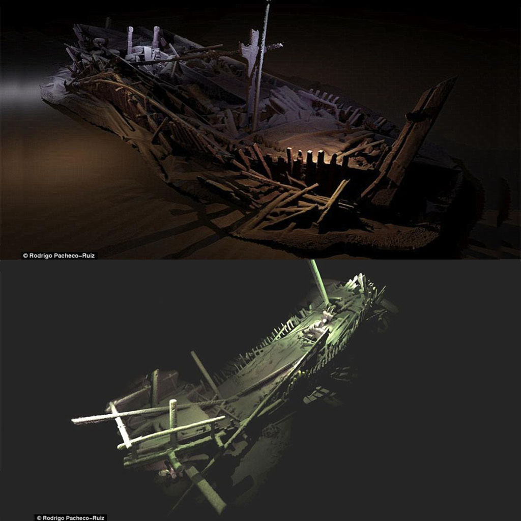 Bulgaria: under the black sea the most ancient intact shipwreck of the world