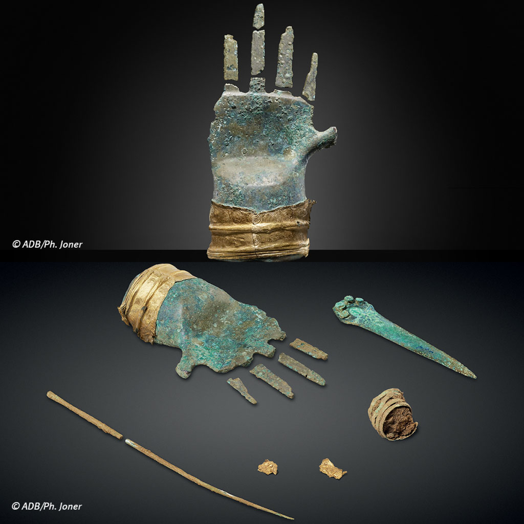 Switzerland:  the most ancient metal hand found in Europe