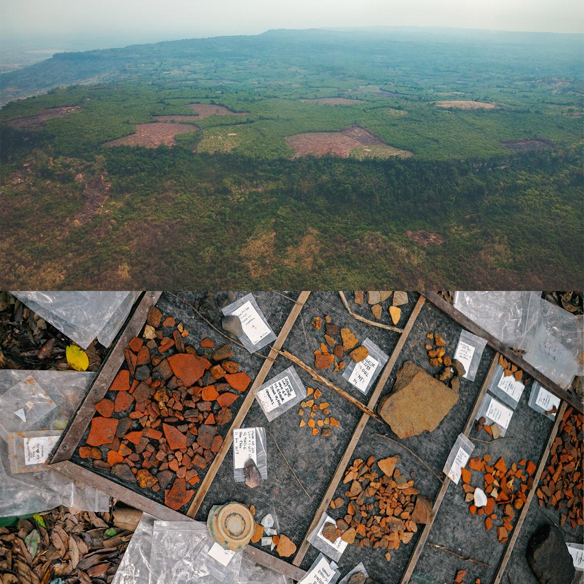 l'antica città di Mahendraparvata dell'Impero Khmer ritrovata nella fitta foresta
