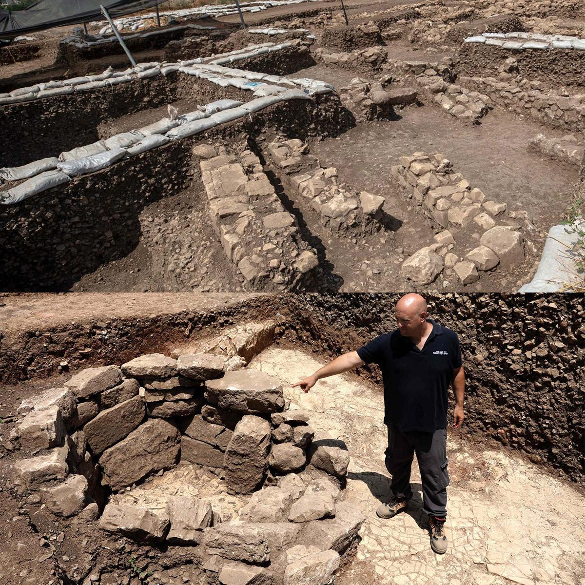 A Motza, in Israele a 5 km a nord-ovest di Gerusalemme, la scoperta di una metropoli neolitica di 9.000 anni fa