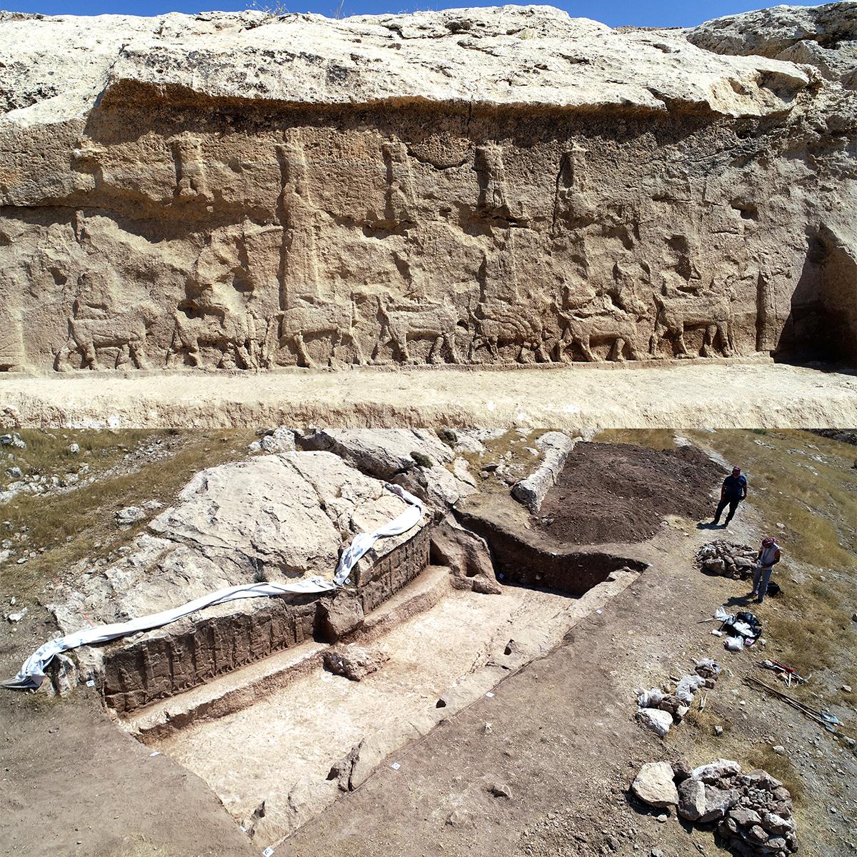 Kurdistan:a 50 km da Mosul tornano alla luce gli dei dell'antica Mesopotamia, scoperti rilievi rupestri d'epoca assira