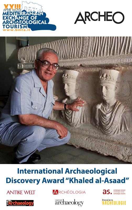 """International Archaeological Discovery Award """"Khaled al-Asaad"""" (3rd edition)"""